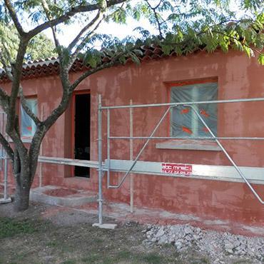 Enduit, peinture façades Draguignan